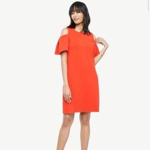 Ann Taylor red dress